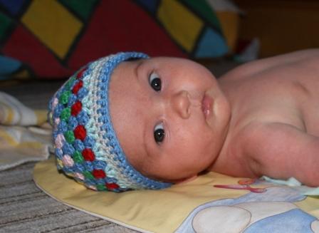 Baby-Granny-Häkelmütze