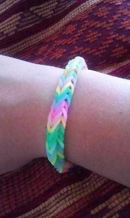 Rubberband-Armband